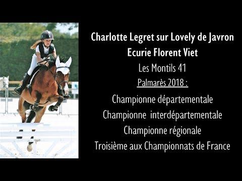 Generali Open de France 2018,  Lamotte Beuvron - Championnat de France CSO - Charlotte Legret
