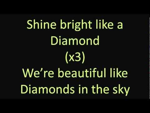 Rihanna - Diamonds [Official Lyrics Video | HQ/HD]