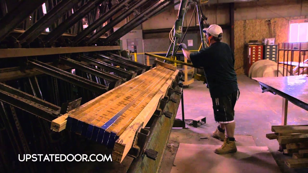 & UPSTATE DOOR: Custom hardwood doors - YouTube