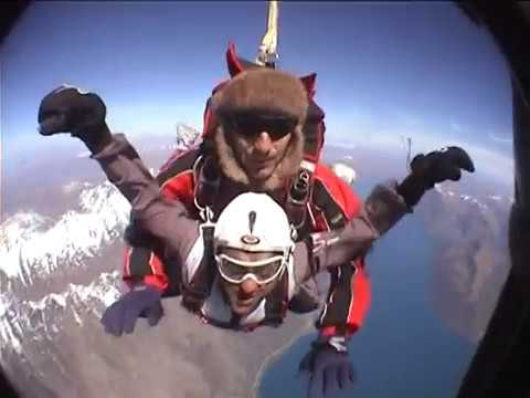 Sky dive in New Zealand by Abhishek Bhat