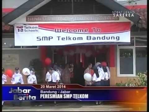 Peresmian Telkom School SMP Telkom Bandung