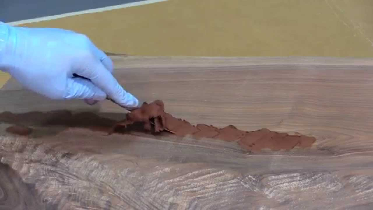 How To Repair A Crack Or Split In Wood Youtube