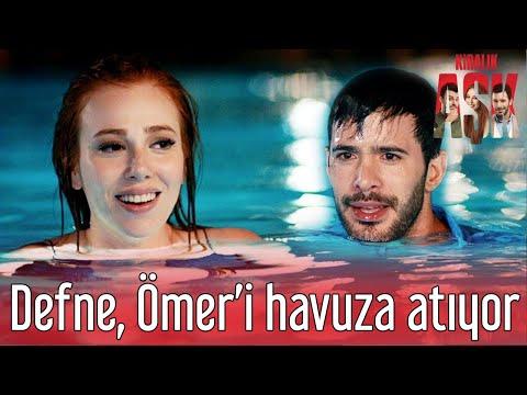 Kiralık Aşk - Defne Ömer'i Havuza Atıyor