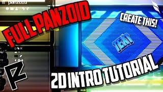 How to Make a 2D Intro with Panzoid Clipmaker 3