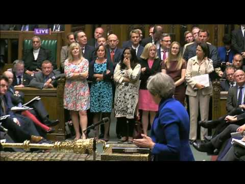 PMQs 19/7/17: Corbyn vs May - pay cuts and poverty