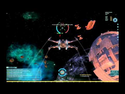 X-Wing vs TIE Fighters Space Combat (SWG)