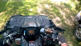 I got an action camera to mount on my helmet for the polaris sportsman 850. this is dragon touch vision 3 camera. like a gopro but lot cheaper l...