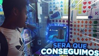CONSEGUI um PS4, IPHONE E UM MACBOOK em UMA MAQUINA DE GARRA ??!! *inacreditavel*