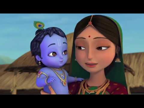 Little Krishna   The Darling of Vrindavan Hindi   Cartoon Movie