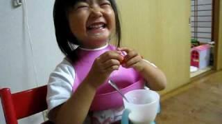 ヨーグルトといちご Yogurt and Strawberrry