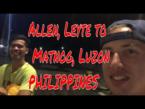 Leyte to Luzon (NO SLEEP TILL LUZON!)