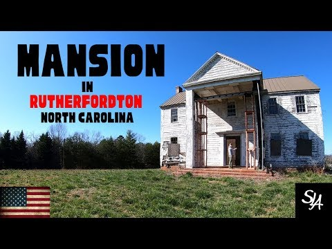 Mansion In Rutherfordton North Carolina