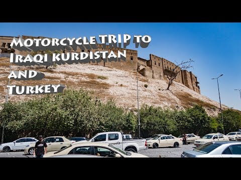 The road to Erbil, Kurdistan Iraq on a Honda Africa Twin XRV 750 Motorcycle travel VLOG