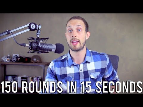 F**k the NRA Guy Claims AR15s Shoot 150 Rounds in 15 Seconds  Doubles Down With More Lies