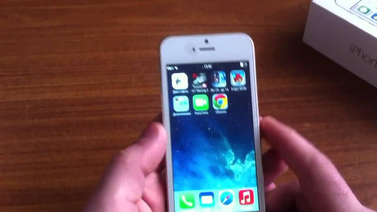 Обзор Тайваньской Копии Iphone 5S [Айфон 5 S Копия Тайвань] - YouTube