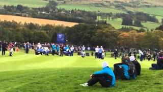 Rory McIlroy - Ryder Cup 2014 @ Gleneagles 11th
