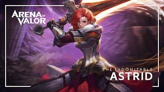 Astrid: Hero Spotlight | Gameplay - Arena of Valor