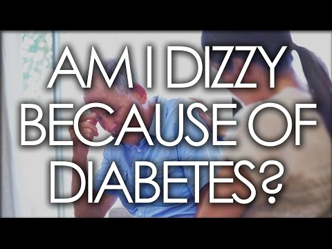 AM I DIZZY BECAUSE OF DIABETES