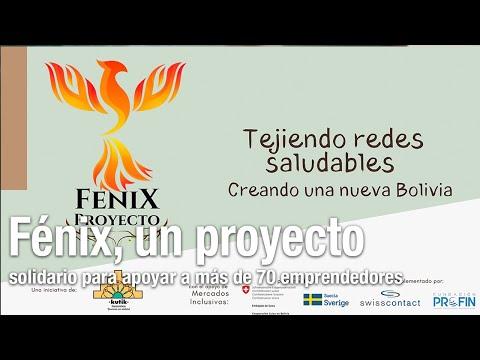 Fénix, un proyecto solidario para apoyar a más de 70 emprendedores de Bolivia