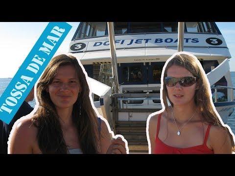 Jak Wygląda Rejs Statkiem Do Tossa De Mar ??? - Hiszpania Cz.4