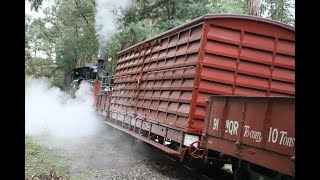 Puffing Billy Freight Chase 05/05/2019
