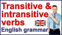 Transitive and intransitive verbs | English grammar rules