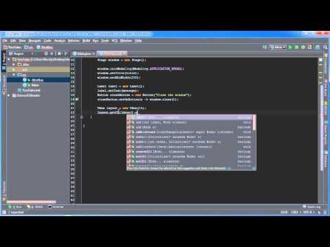 JavaFX Java GUI Tutorial - 5 - Creating Alert Boxes