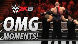 WWE 2K15: All OMG Moments Including The Shield's Triple Powerbomb!