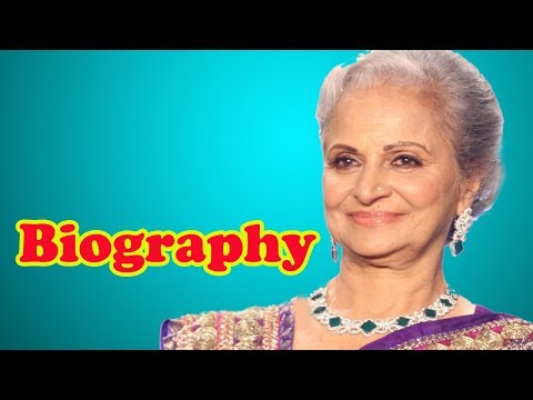 Waheeda Rehman - Biography