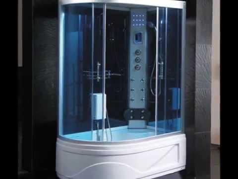 Cabina idromassaggio box doccia con vasca sauna bagno turco by