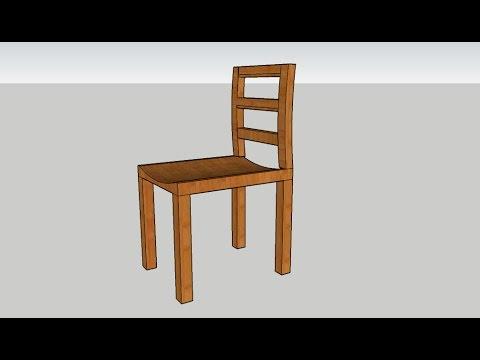 Come Costruire Una Sedia A Dondolo.Progettare Una Sedia Youtube