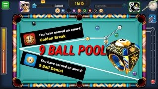 Miniclip 8 Ball pool - Mr Miss - Winning the Miami 9 ball ring - TIPS AND TRICKS - FULL HD