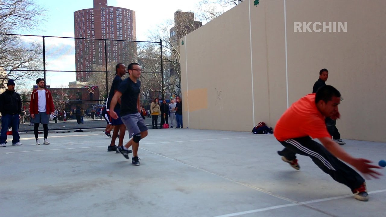 59c497625ab 30 March 2013 Handball Courts in Chinatown NYC - YouTube