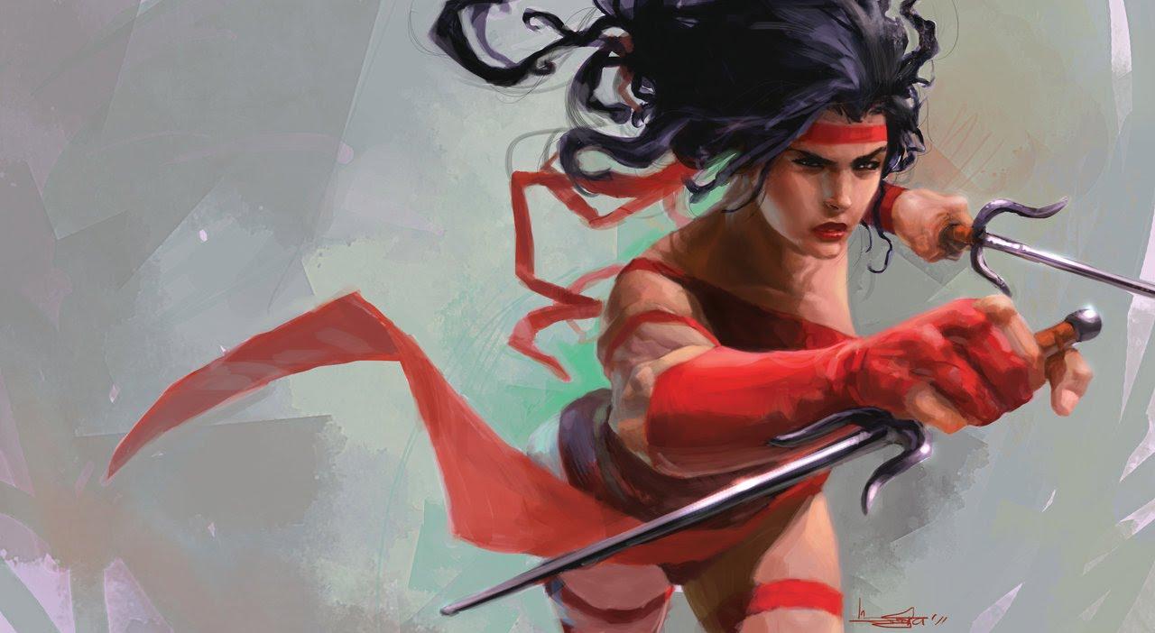 Pubg By Sodano On Deviantart: Elodie Yung To Play Elektra In Daredevil Season 2