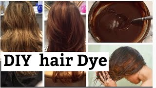 DIY NATURAL HAIR DYE with COFFEE HAIR MASK Cover Grey Naturally home Remedy