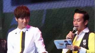 [FANCAM] Lee Min Ho Fansmeeting JKT 23-03-13 LMH answering fans' questions