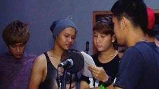 Persiapan SM*SH berlatih jelang SCTV Music Award - Was Was 29 April 2013
