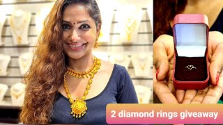 Shopping at Maharaja Gold & diamonds tripunithura|Diamond rings giveaway