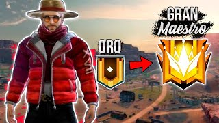 DE ORO A TOP GLOBAL en SOLO 7 HORAS *TEMPORADA 17* !! FREE FIRE | LUAY