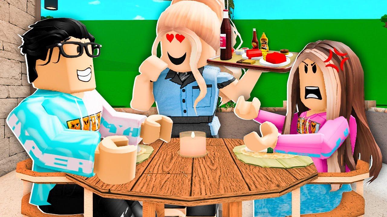 I Caught Waitress FLIRTING With My BOYFRIEND! (Roblox)