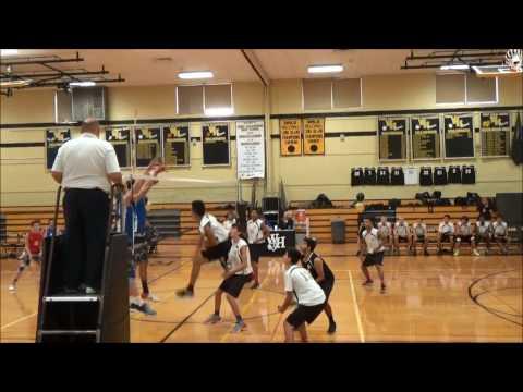 Seiji Clark Senior Highlights West Hempstead High School Volleyball 2016 Season