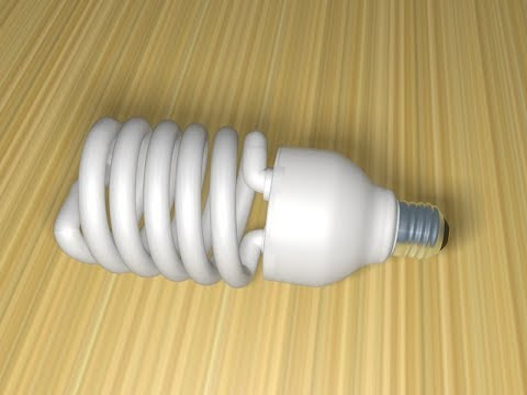 How to Model Energy Saving Light Bulb Using Splines in Cinema 4D
