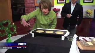 2014 St. Patrick's Day Irish Oatmeal Pancakes Recipe -- Chef Rebecca -- Busch's Fresh Food Market