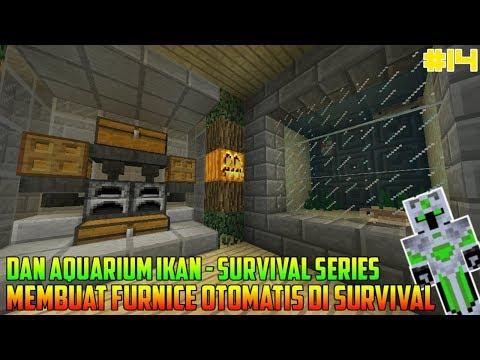 Survival Series : Membuat Furnice Otomatis - First Adventure #14