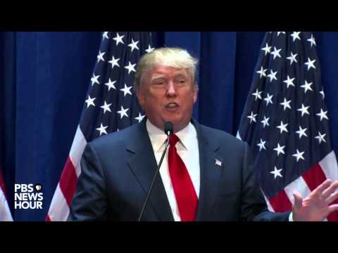 Watch Donald Trump announce his candidacy for U.S. president