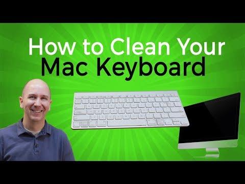 How to Clean a Mac Keyboard | Clean Your Keyboard Keys Easy PC or Mac