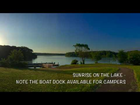 Camping at Natchez Trace State Park