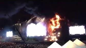 Tomorrowland in Barcelona: Feuer auf der Bühne - 20.000 Menschen evakuiert