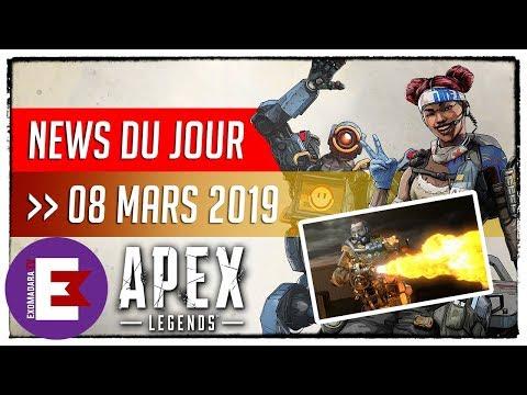 APEX LEGENDS UN LANCE FLAMME ET UNE AUTRE ARME DANS LES FICHIERS DU JEU | 8 Mars 2019