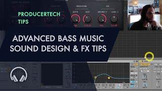 Create INSANE bass sounds! Advanced Bass Music Sound Design & FX Tips from Seppa